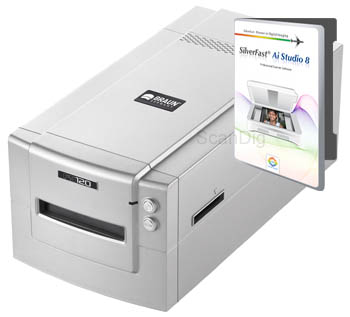 Detailed review scanner Braun FS-120 for scanning medium