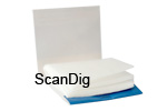 The cleaning paper consists of extremely thin and fine paper sheets