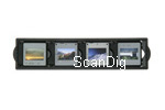 The slide holder of the Plustek OpticFilm 8200i