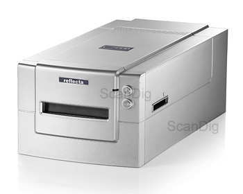 Review Reflecta MF5000: medium format scanner for digitizing