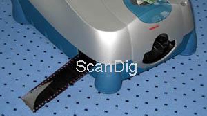 einstellung scannen dia: