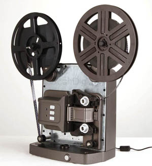 Digitization of Super8 films using the Reflecta Super8