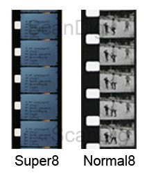 Comparison of Super-8 with Normal-8