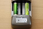 Braun Charger 1forALL Plus: Display with state of charge indication