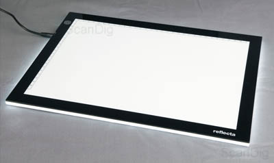 Light panel test report, buying advice light table
